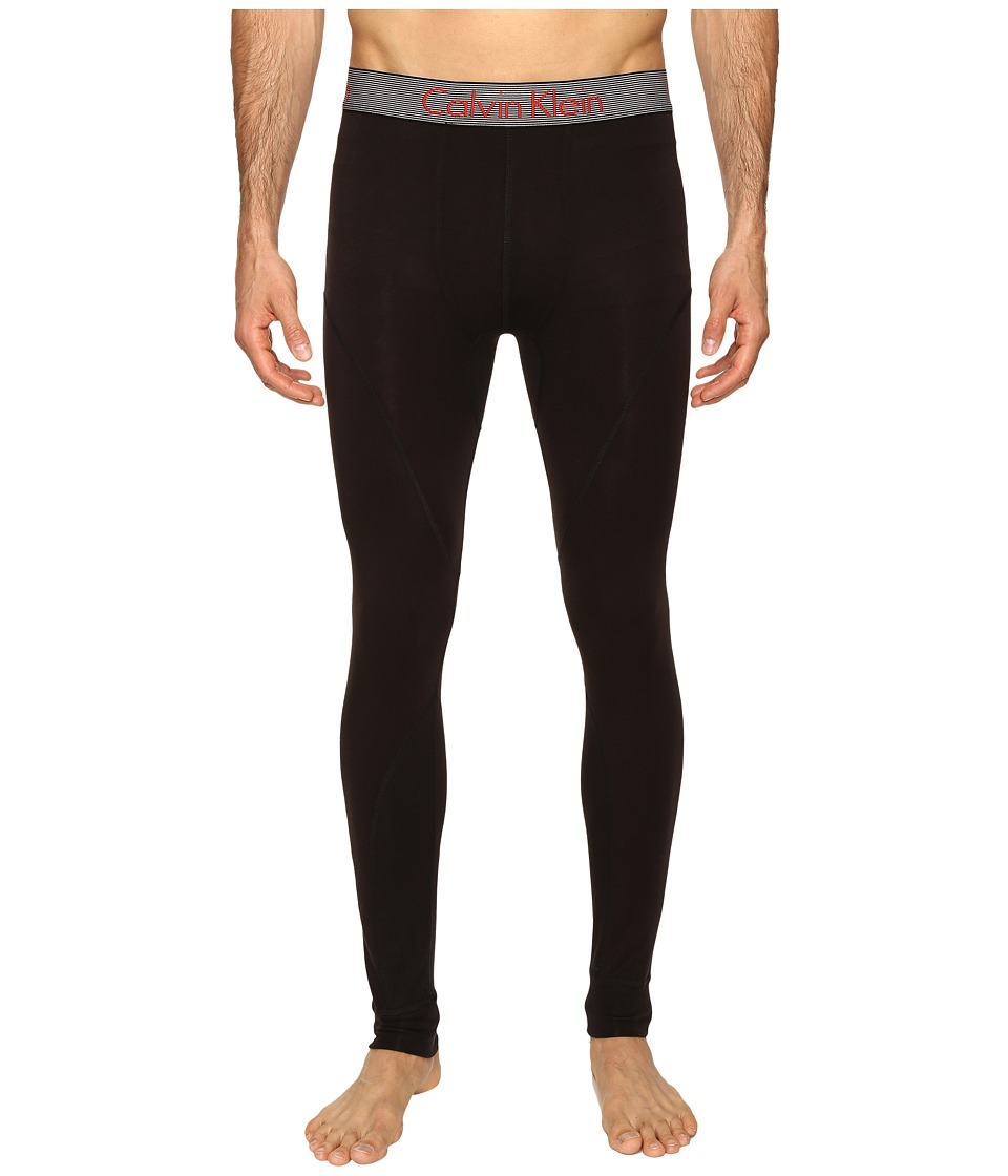 Calvin Klein Underwear - Calvin Klein Thermal Long John (Black) Men's Underwear