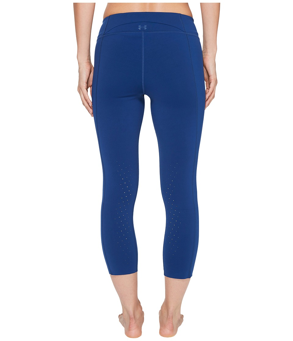 Under Armour Mirror Breathe Lux Crop (Blackout Navy) Women