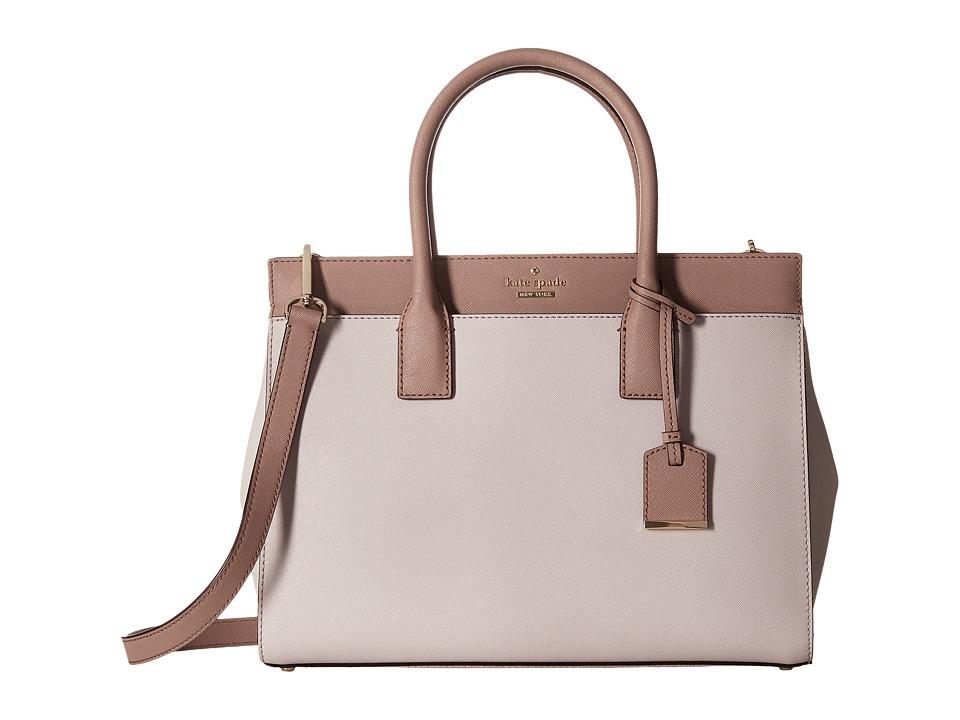 Kate Spade New York - Cameron Street Candace (Nouveau Neutral/Porcini/Light Shale) Satchel Handbags