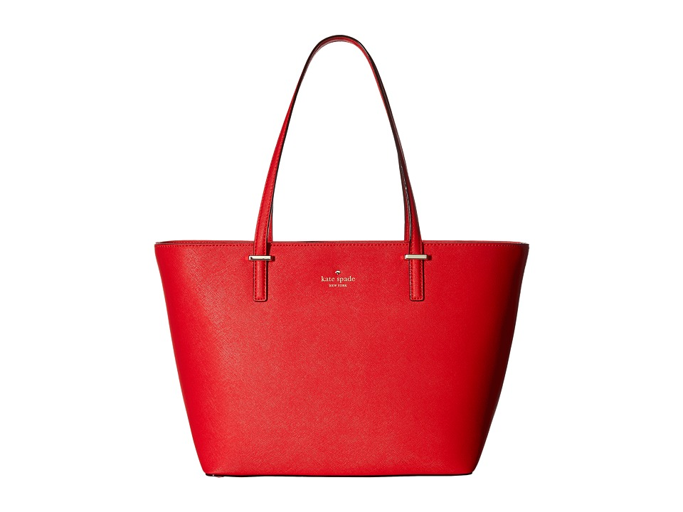 Kate Spade New York - Cedar Street Small Harmony (Rooster Red) Tote Handbags