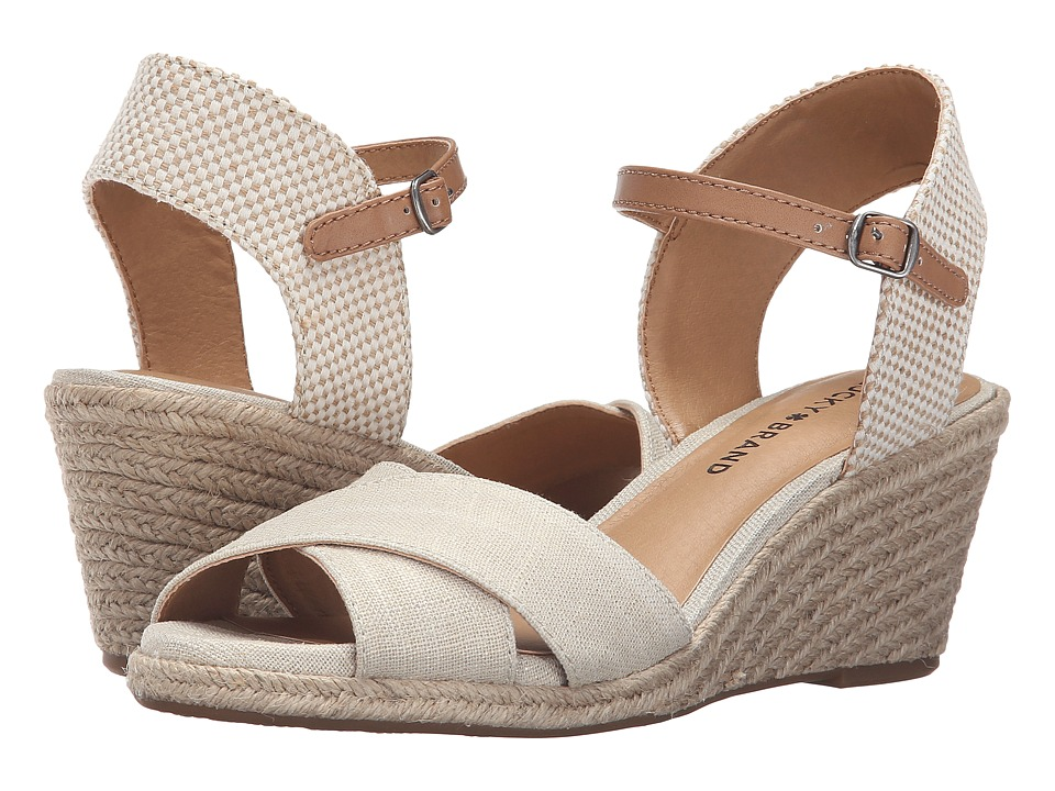 Lucky Brand - Karoly (Natural) Women's Shoes