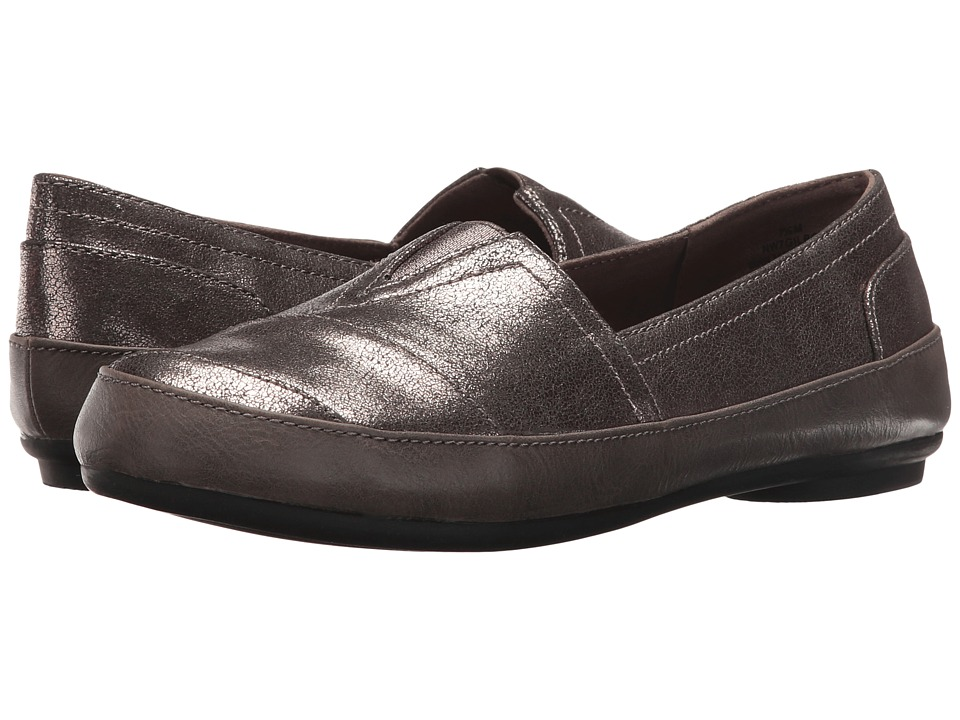Nine West - Gilboy (Pewter Combo Synthetic) Women's Flat Shoes