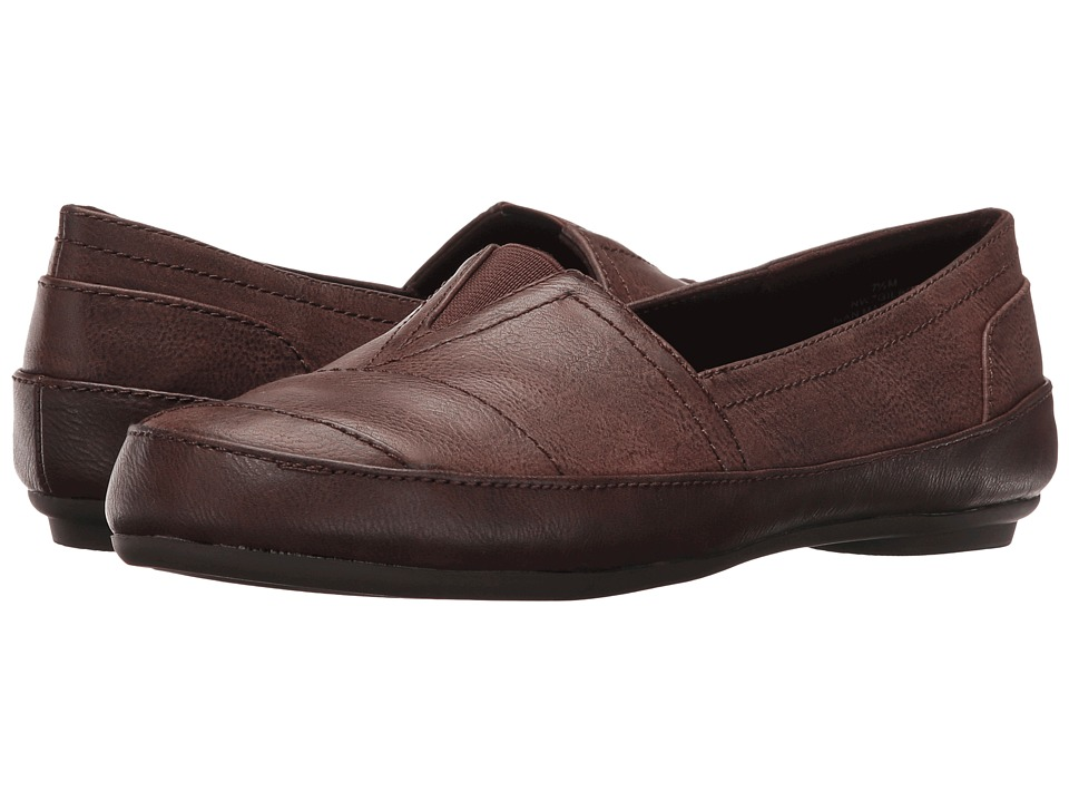 Nine West - Gilboy (Dark Brown Combo) Women's Flat Shoes