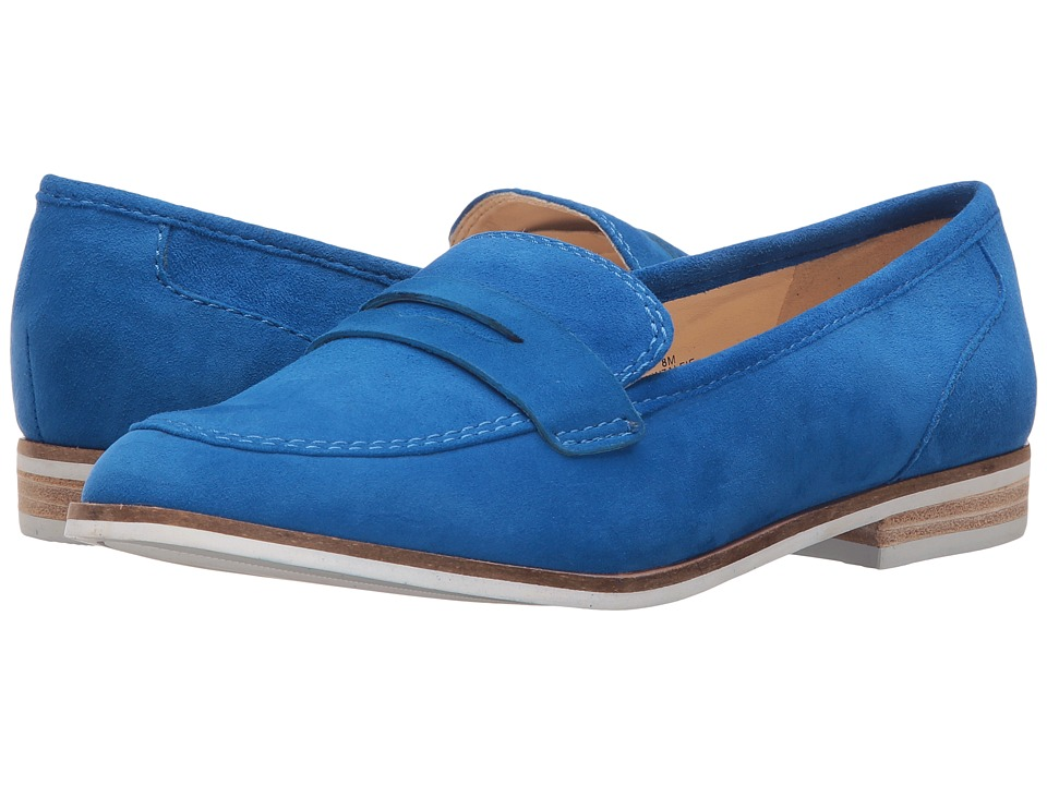 Nine West - Alfie (Blue Suede) Women's Shoes