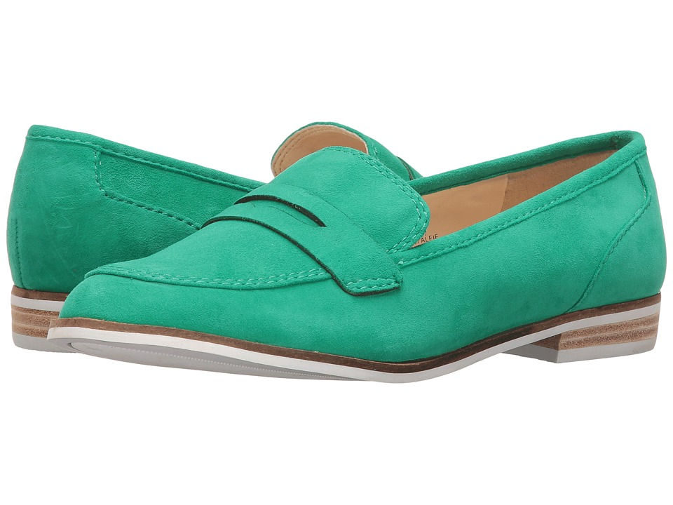 Nine West Alfie (Green Suede) Women