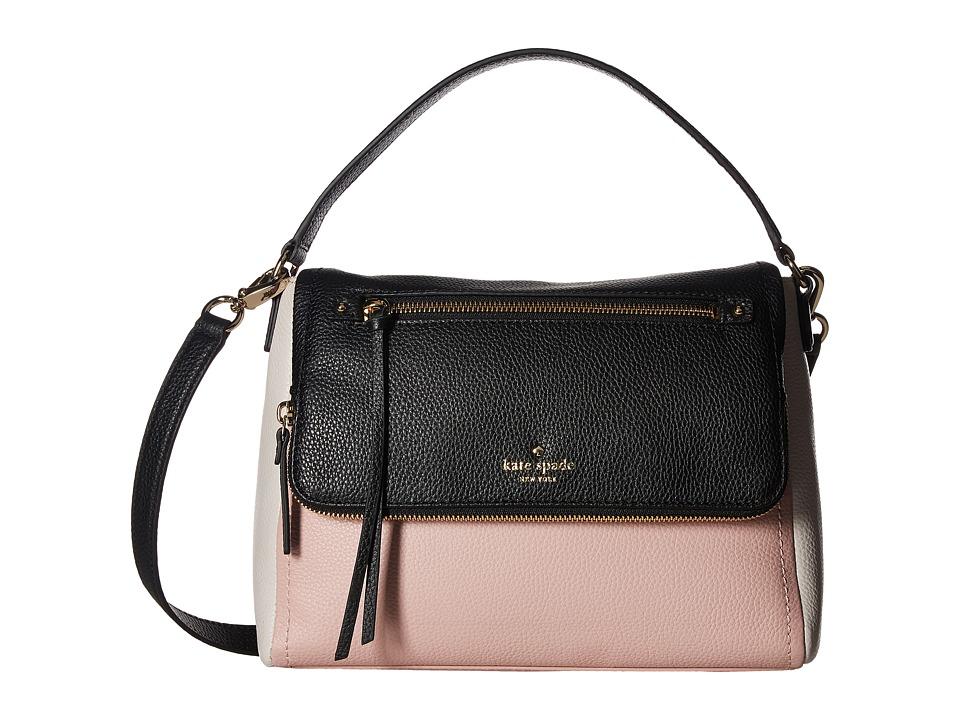 Kate Spade New York - Cobble Hill Small Toddy (Pink Granite Multi) Shoulder Handbags