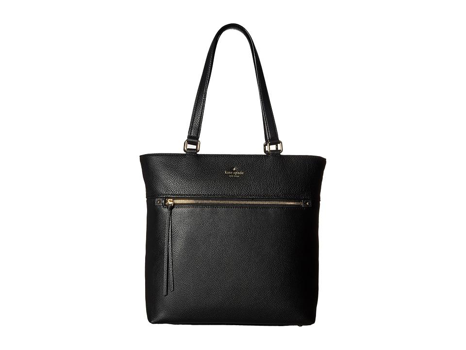 Kate Spade New York - Cobble Hill Tayler (Black) Handbags