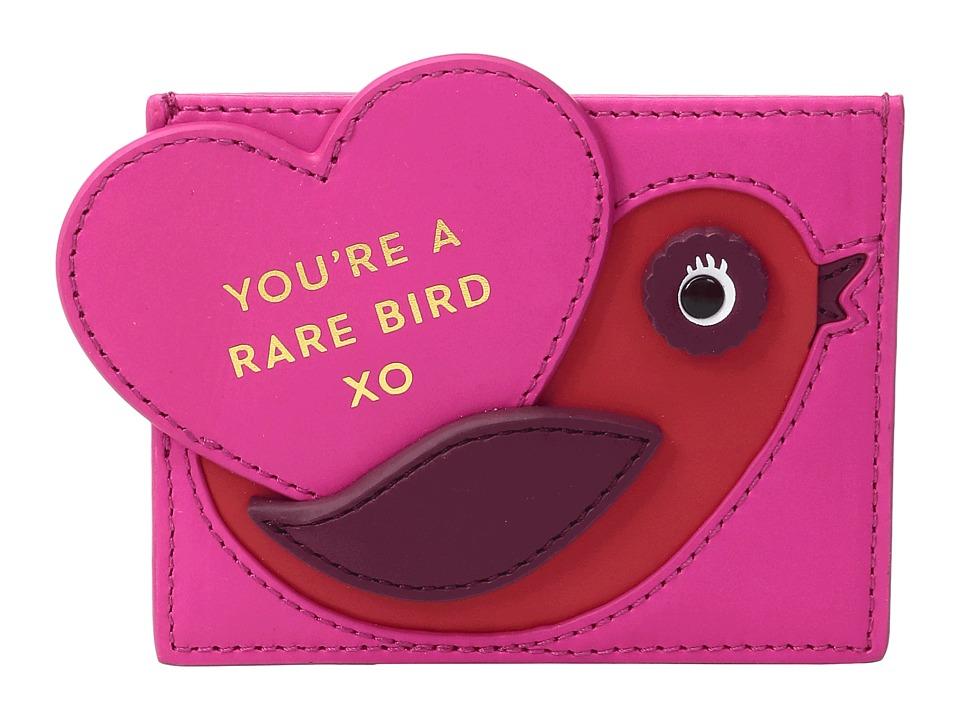 Kate Spade New York - Be Mine Valentines Hangtag Card Holder (Multi) Wallet
