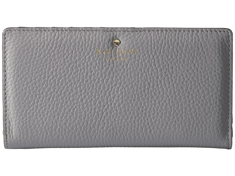 Kate Spade New York - Cobble Hill Stacy (City Fog) Wallet Handbags