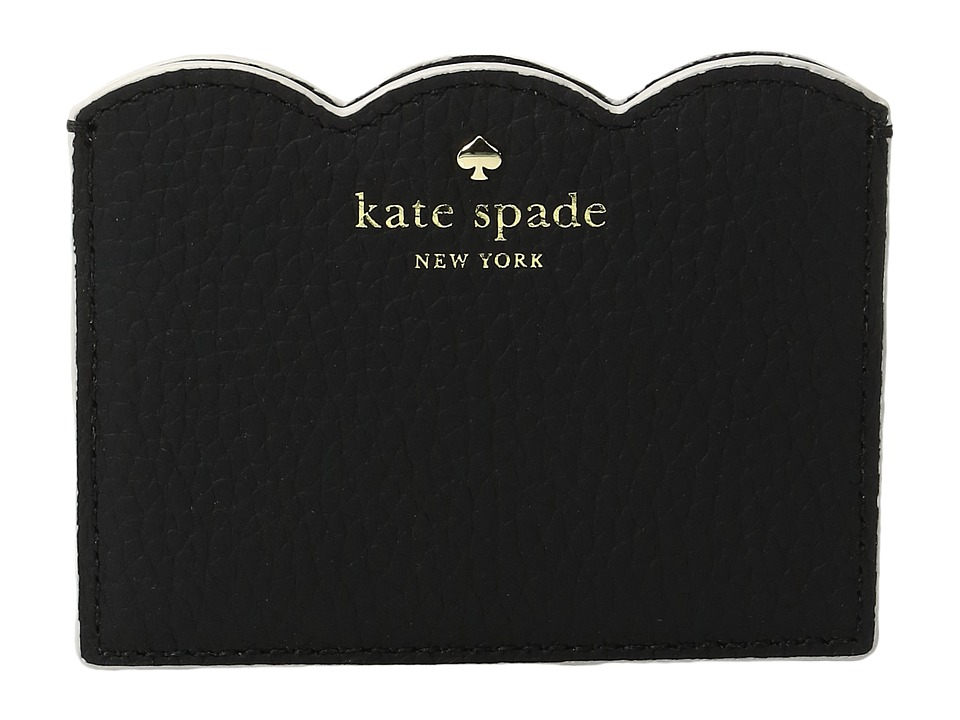 Kate Spade New York - Leewood Place Card Holder (Black) Wallet