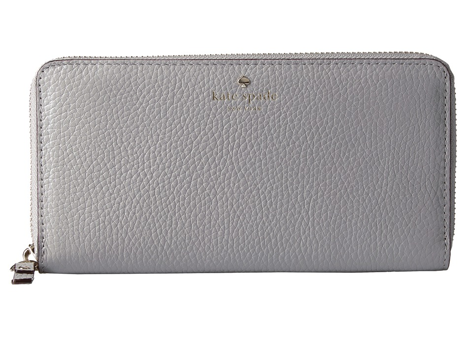 Kate Spade New York - Cobble Hill Lacey (City Fog) Wallet Handbags