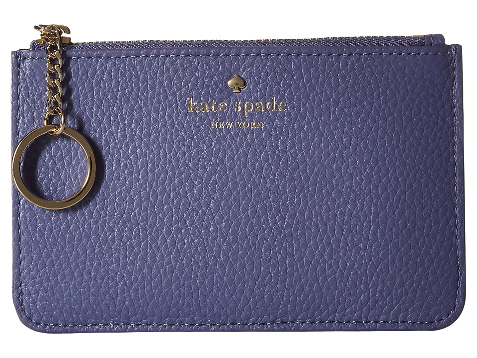Kate Spade New York - Cobble Hill Large Card Holder (Oyster Blue Multi) Credit card Wallet