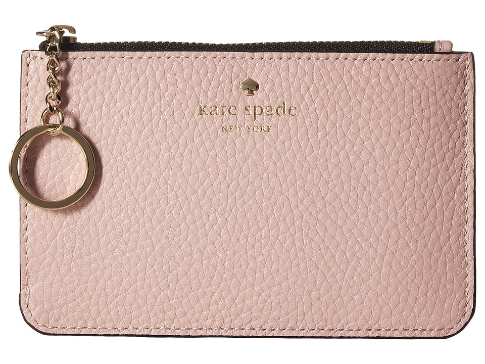 Kate Spade New York - Cobble Hill Large Card Holder (Pink Multi) Credit card Wallet