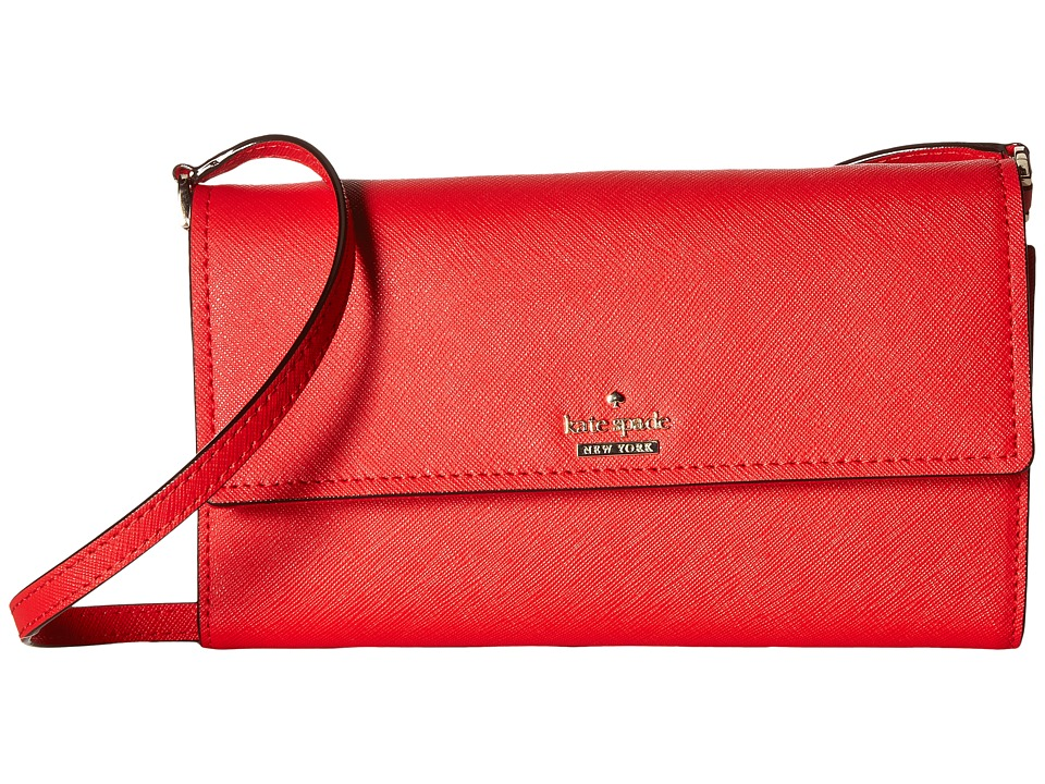 Kate Spade New York - Cameron Street Stormie (Rooster Red) Wallet