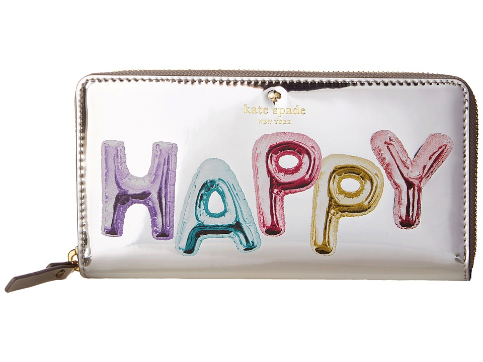 Kate Spade New York - Whimsies Happy Lacey (Multi) Wallet