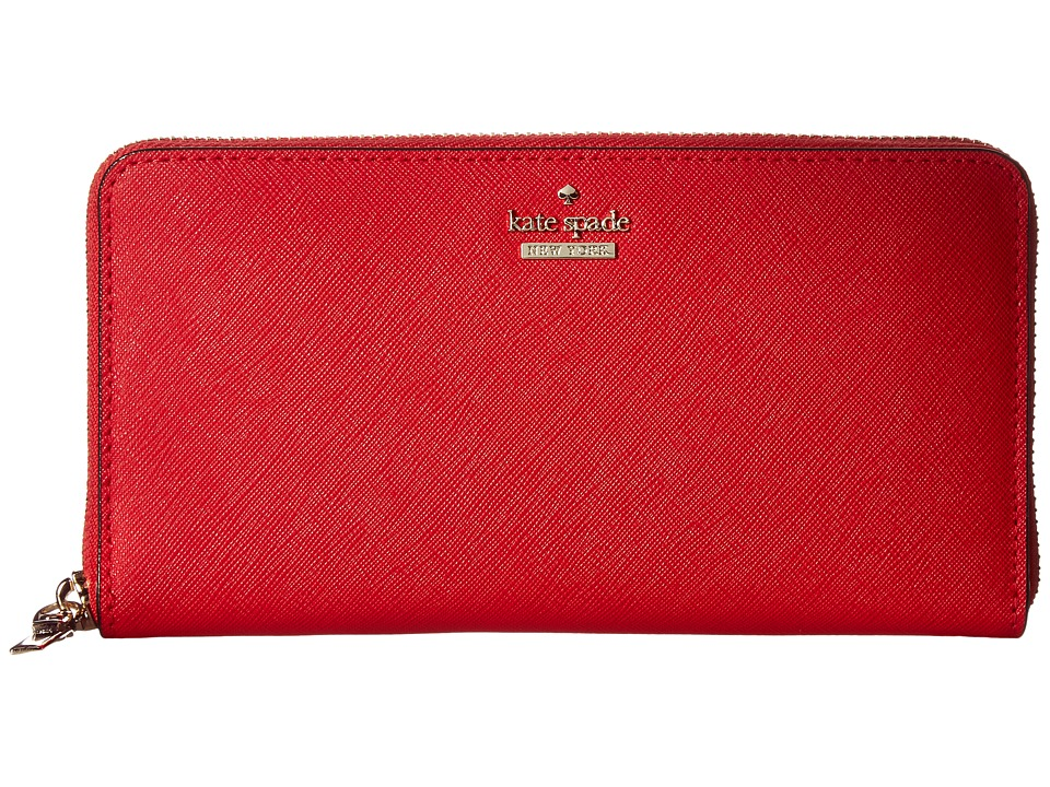 Kate Spade New York - Cameron Street Lacey (Rooster Red) Wallet