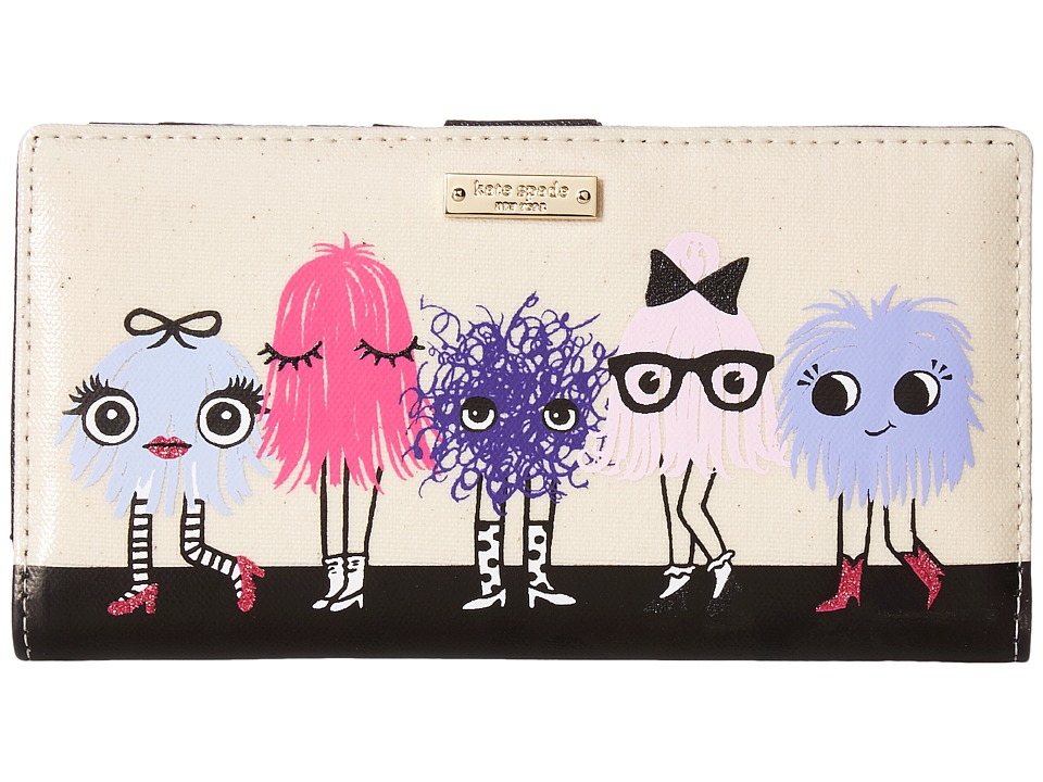 Kate Spade New York - Imagination Monster Party Stacy (Multi) Wallet