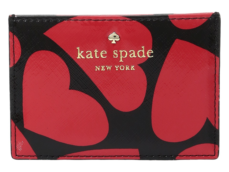 Kate Spade New York - Be Mine Card Holder (Multi) Wallet