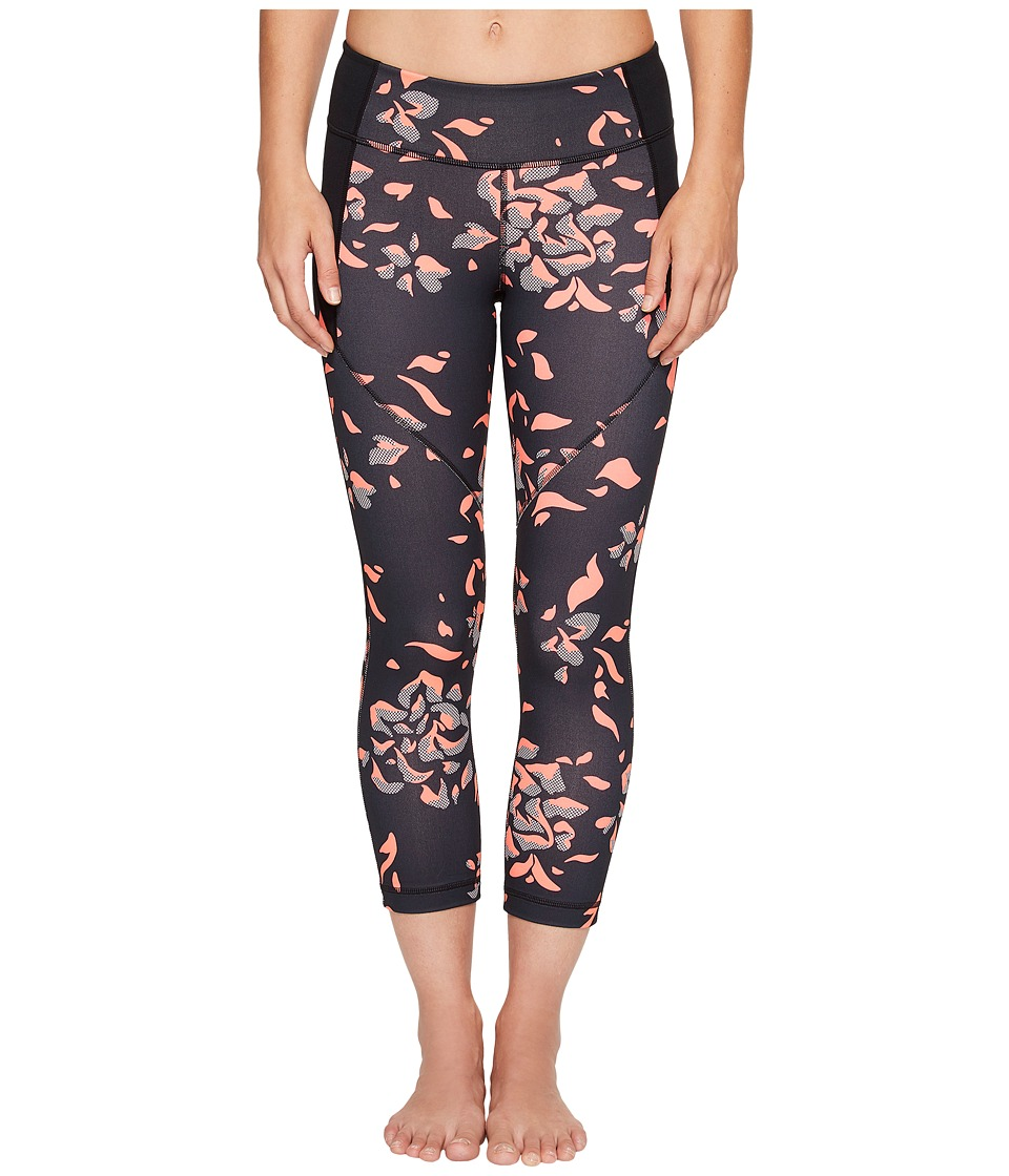 Under Armour - Mirror Printed Crop (Black/Black) Women's Capri