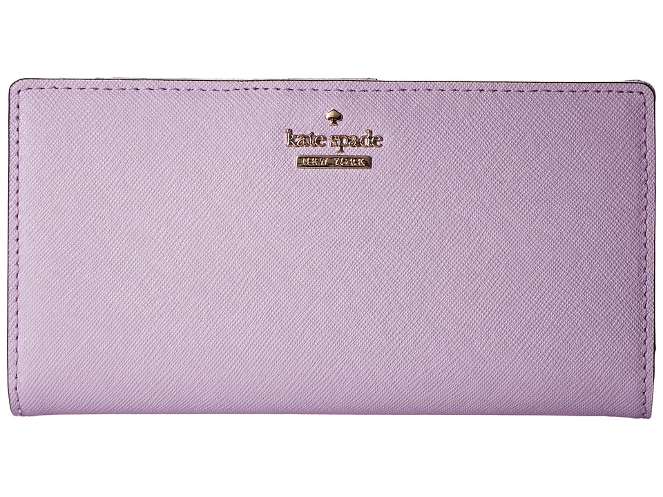 Kate Spade New York - Cameron Street Stacy (Lilac Cream) Wallet