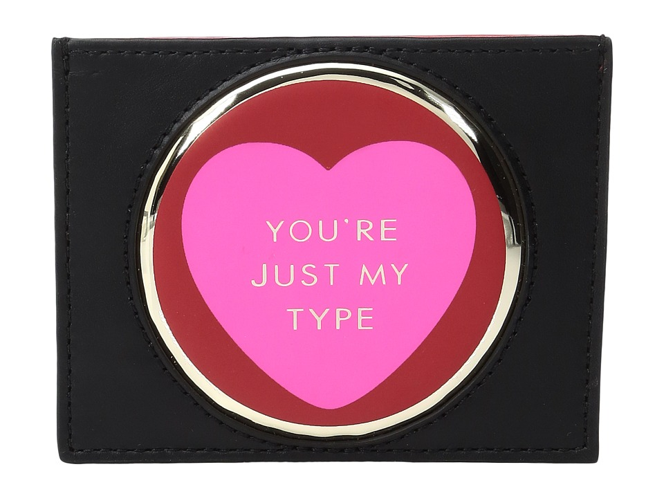 Kate Spade New York - Be Mine Valentines Hangtag Card Holder (Multi) Wallet