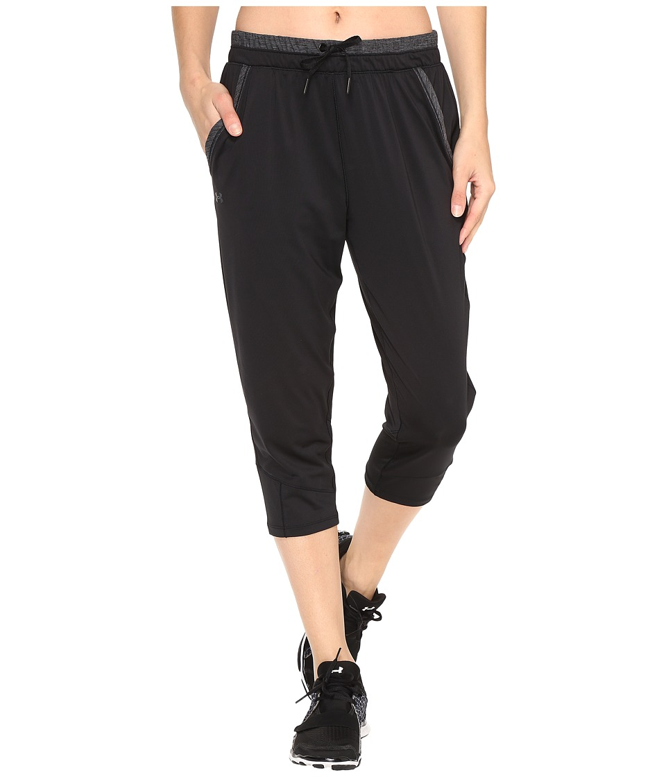 Under Armour Armour Sport Crop (Black/Black) Women