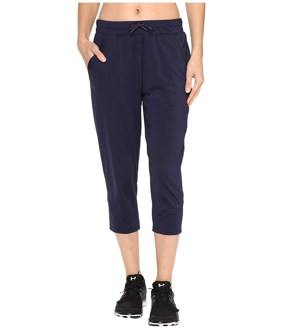 Under Armour Armour Sport Crop (Midnight Navy/Midnight Navy) Women