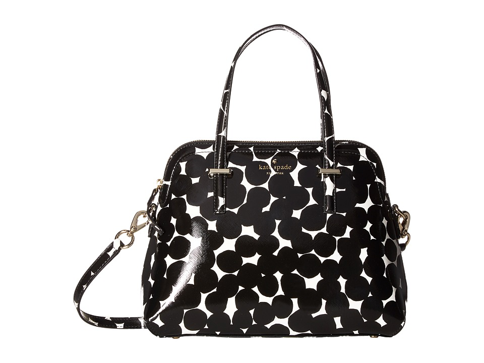 Kate Spade New York - Cedar Street Blot Dot Maise (Black/Cream) Handbags