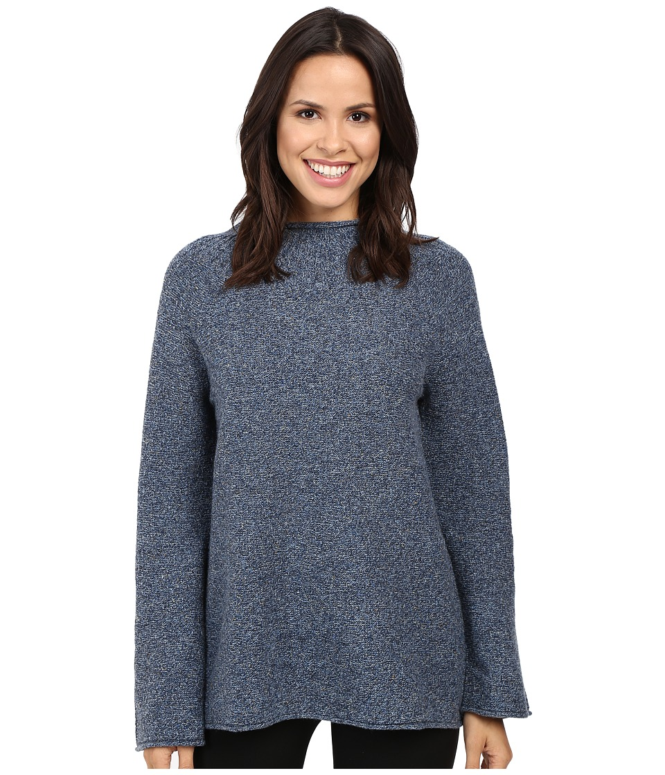 Pendleton - Pria Pullover (Blue Tweed) Women's Sweater