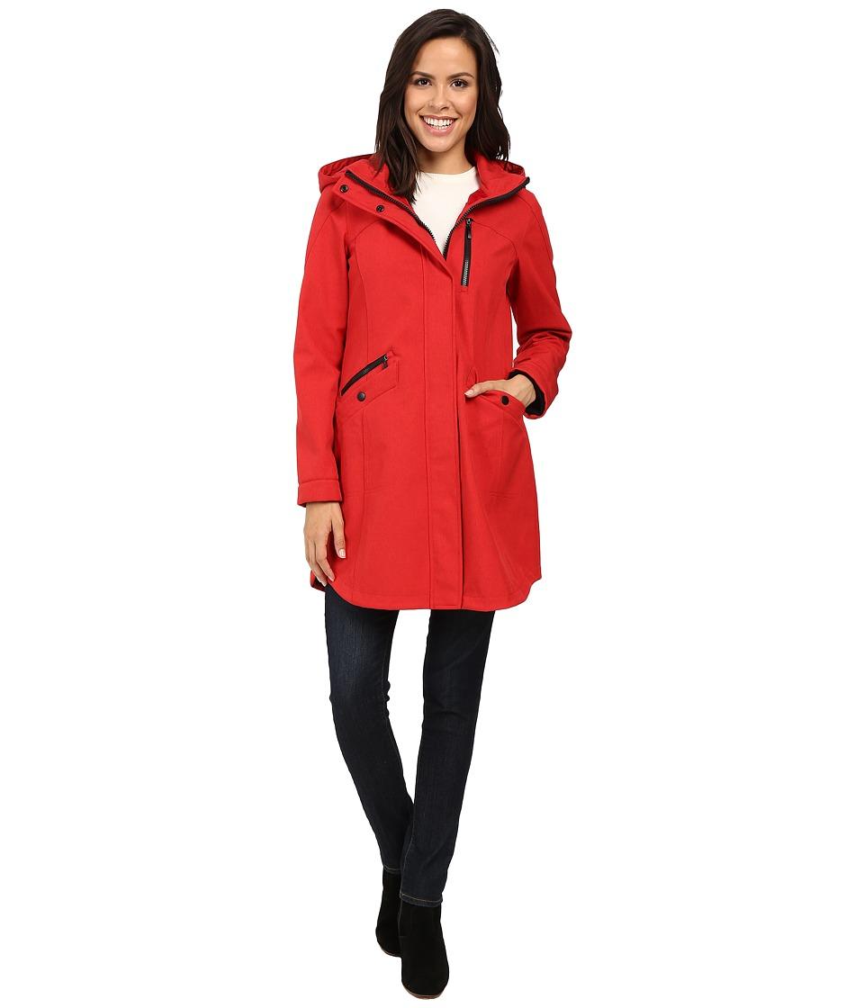 Pendleton - Hooded Zip Coat (Red) Women's Coat