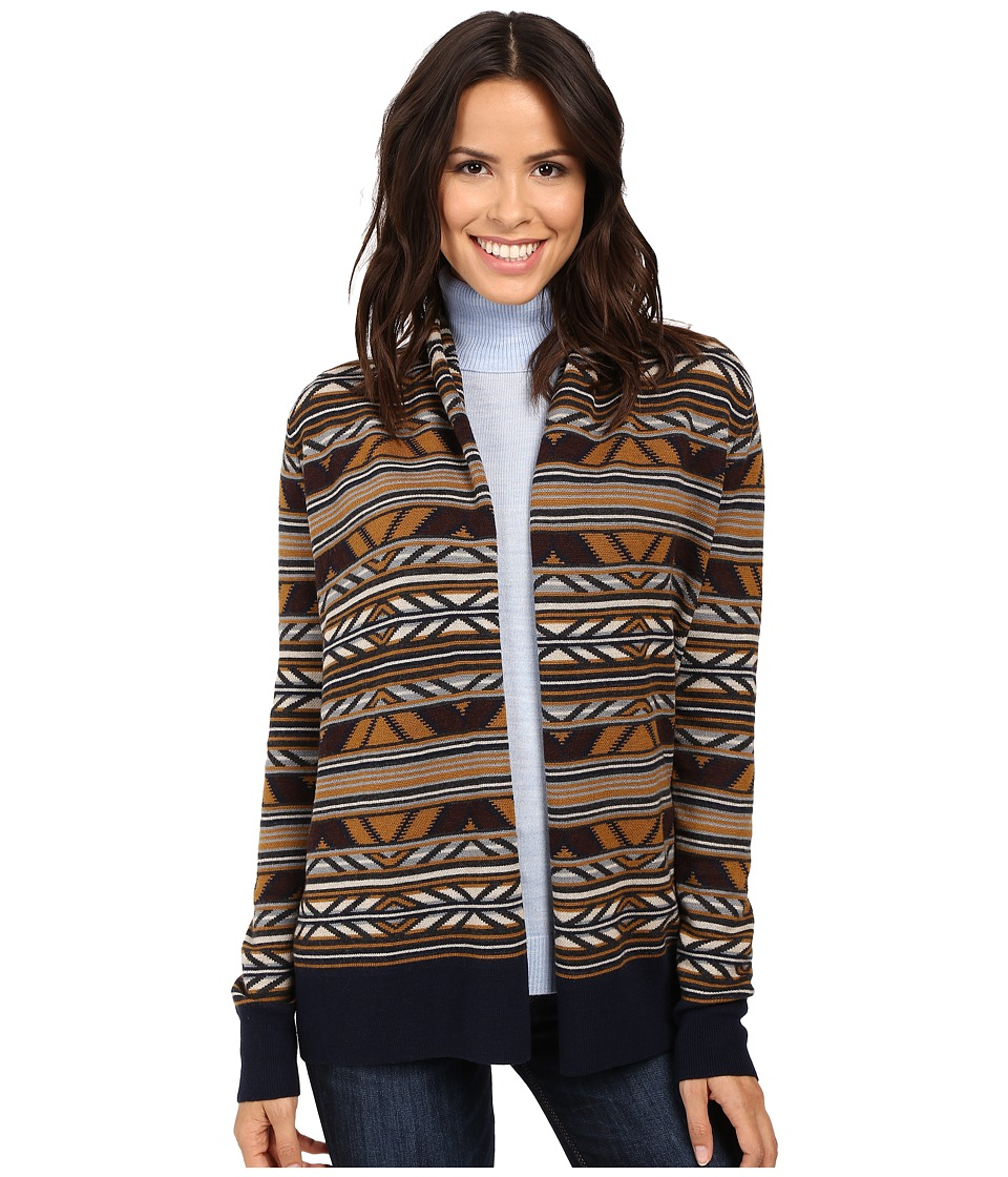 Pendleton - McKenzie Cardigan (Navy Multi) Women's Sweater