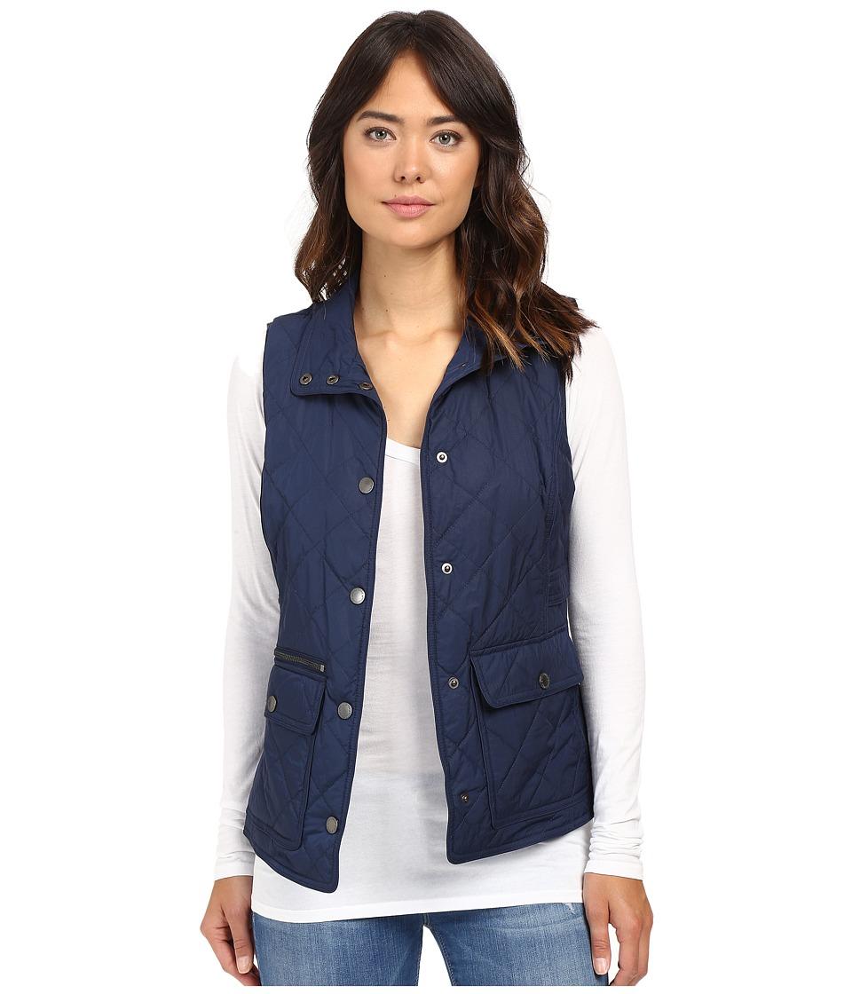 Pendleton - Quilted Snap Vest (Bright Navy) Women's Vest