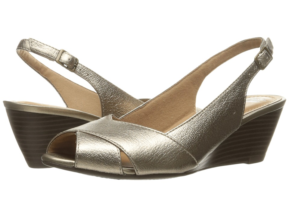 Clarks - Brielle Kae (Gold Metallic) Women's Shoes