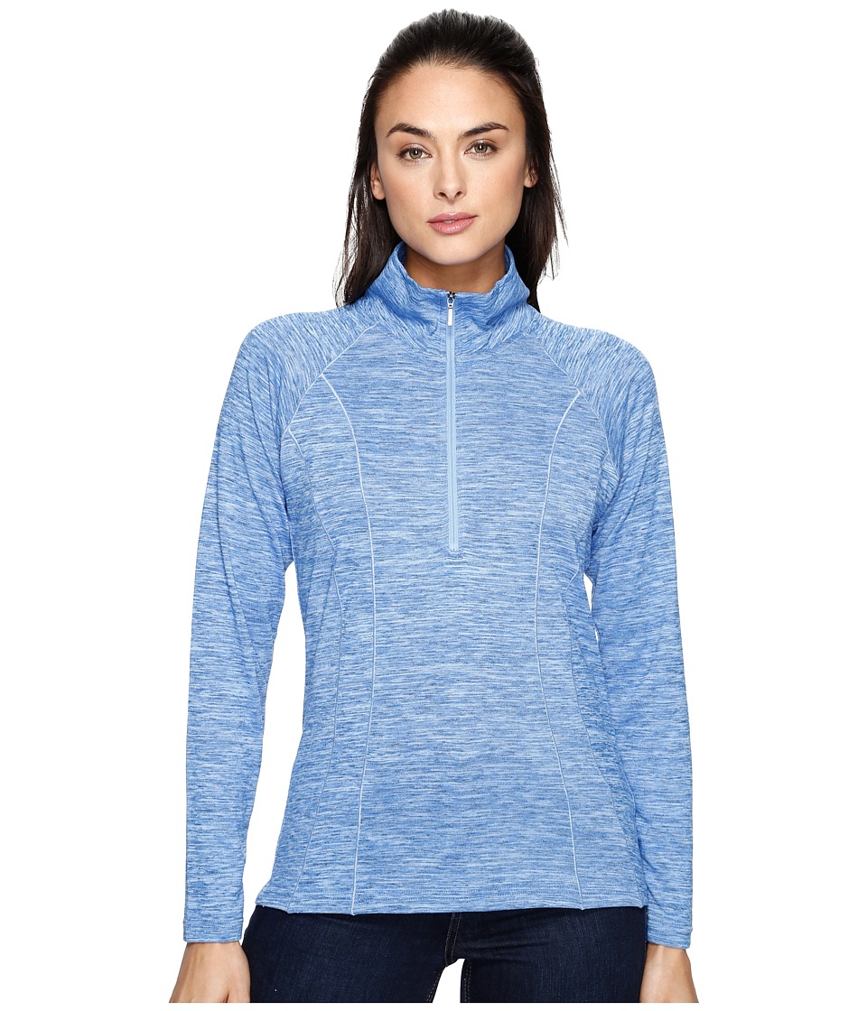 KUHL - Vara 1/4 Zip (Atlantis) Women's Long Sleeve Pullover
