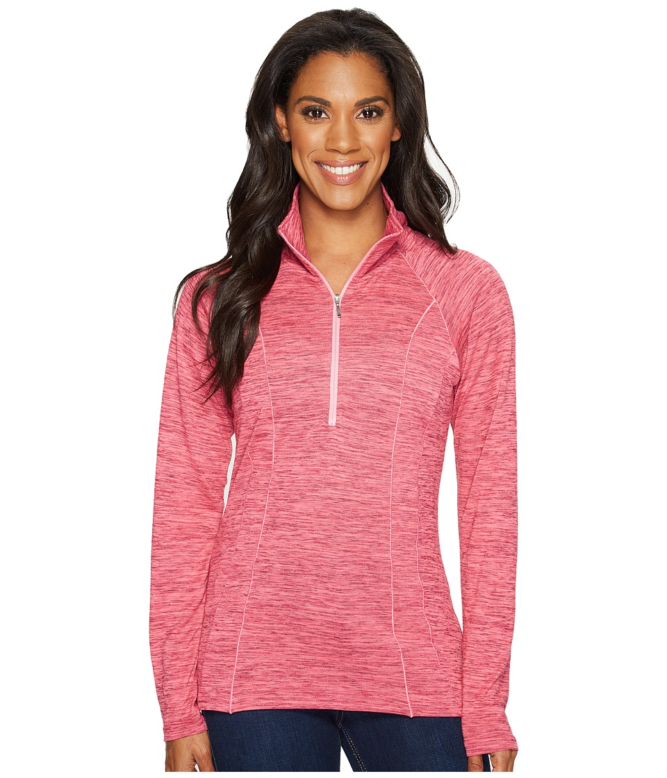 KUHL - Vara 1/4 Zip (Lotus) Women's Long Sleeve Pullover