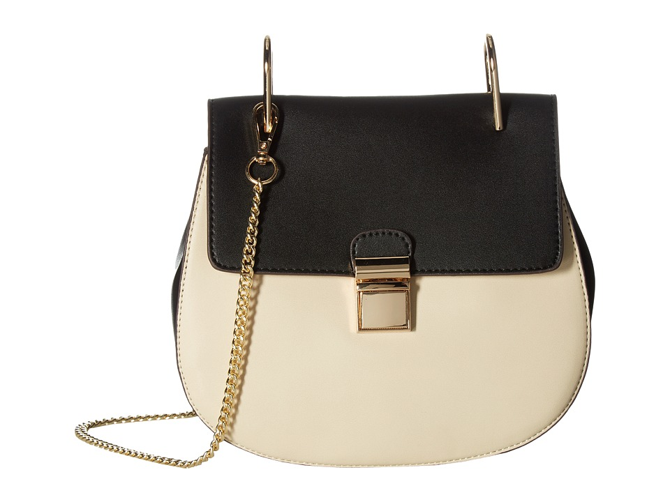 Gabriella Rocha - Idette Crossbody Purse (Black/Cream) Cross Body Handbags