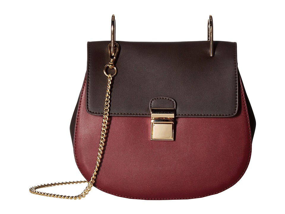 Gabriella Rocha - Idette Crossbody Purse (Brown/Burgundy) Cross Body Handbags