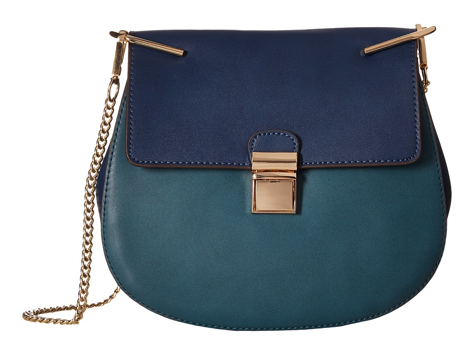 Gabriella Rocha - Idette Crossbody Purse (Navy/Powder Blue) Cross Body Handbags