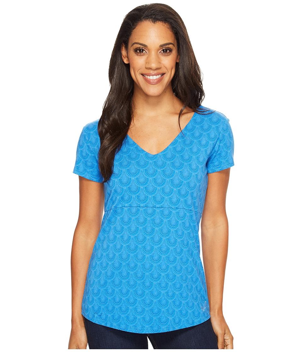 KUHL - Adalina Short Sleeve Shirt (Atlantis) Women's Short Sleeve Pullover