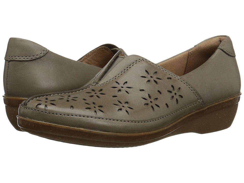 Clarks - Everlay Dairyn (Sage Leather) Women's Shoes