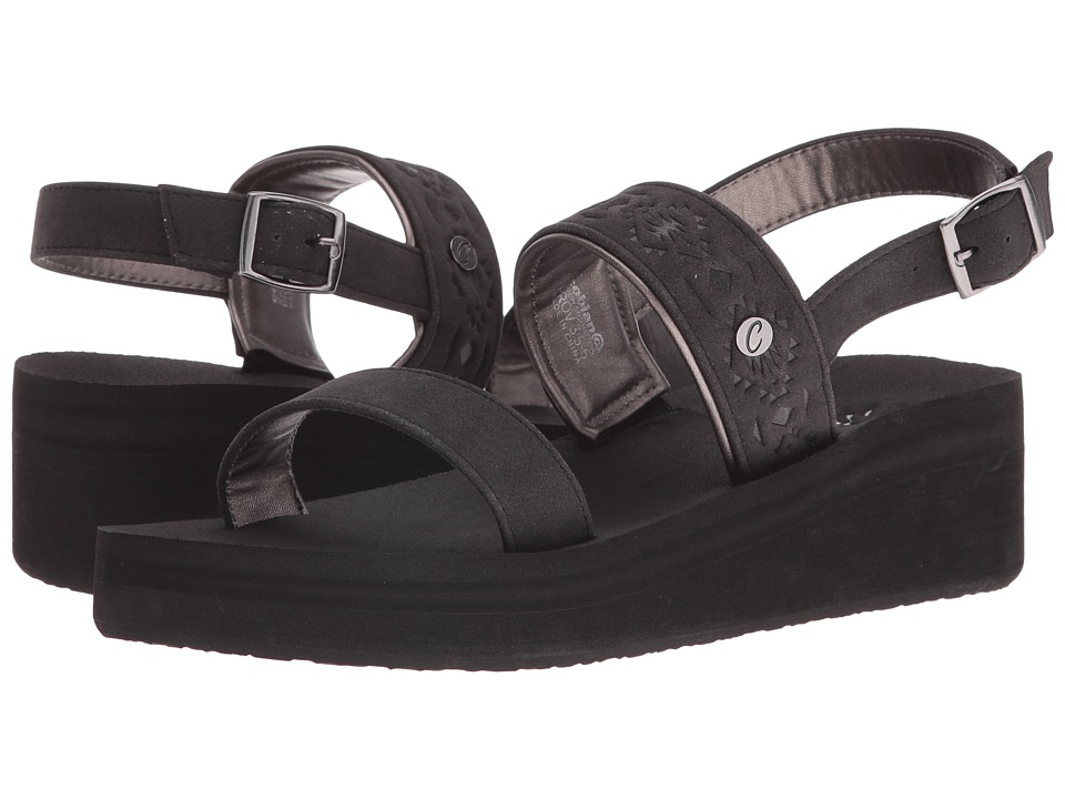 Cobian - Sedona (Black) Women's Sandals