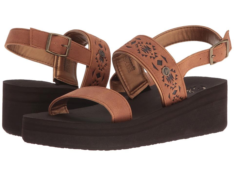 Cobian - Sedona (Tan) Women's Sandals