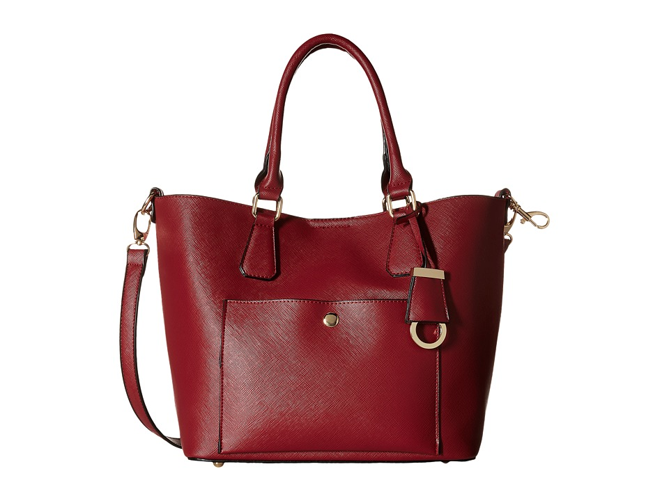 Gabriella Rocha - Alazne Satchel Purse (Burgundy) Handbags