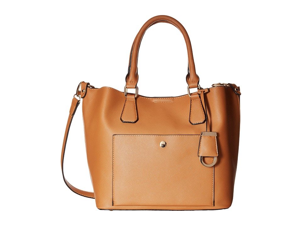 Gabriella Rocha - Alazne Satchel Purse (Tan) Handbags