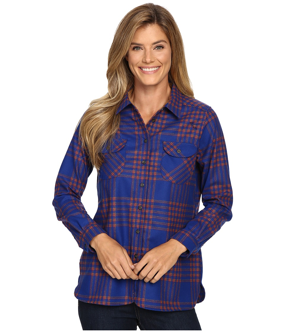 Pendleton - Winslow Shirt (Blue Multi Plaid) Women's Clothing