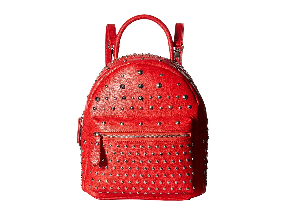 Gabriella Rocha - Zurina Studded Backpack (Red) Backpack Bags