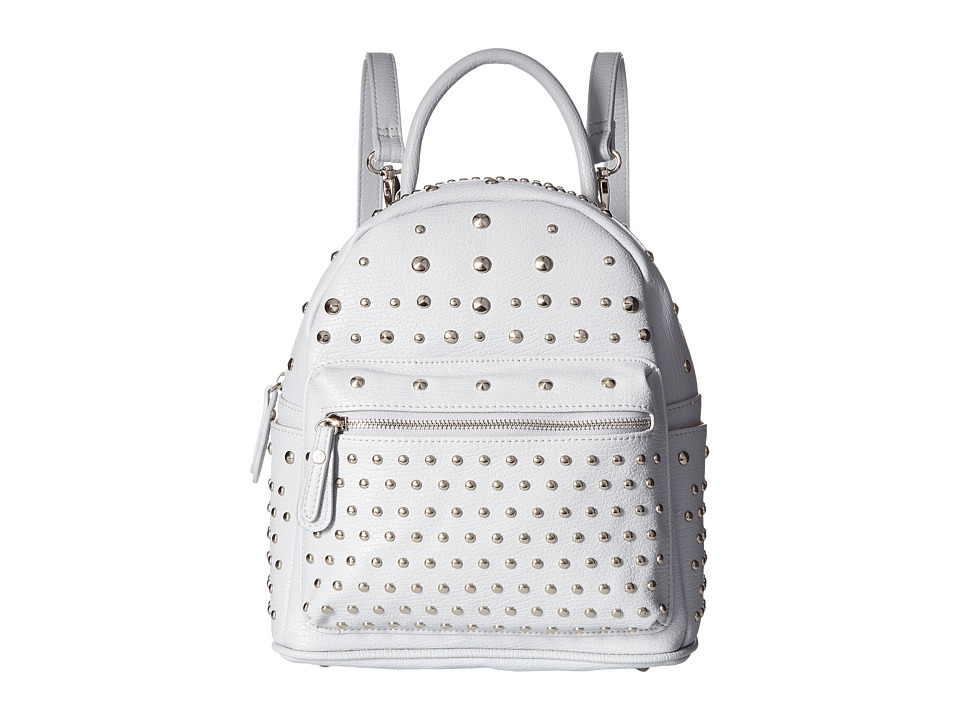 Gabriella Rocha - Zurina Studded Backpack (Light Grey) Backpack Bags