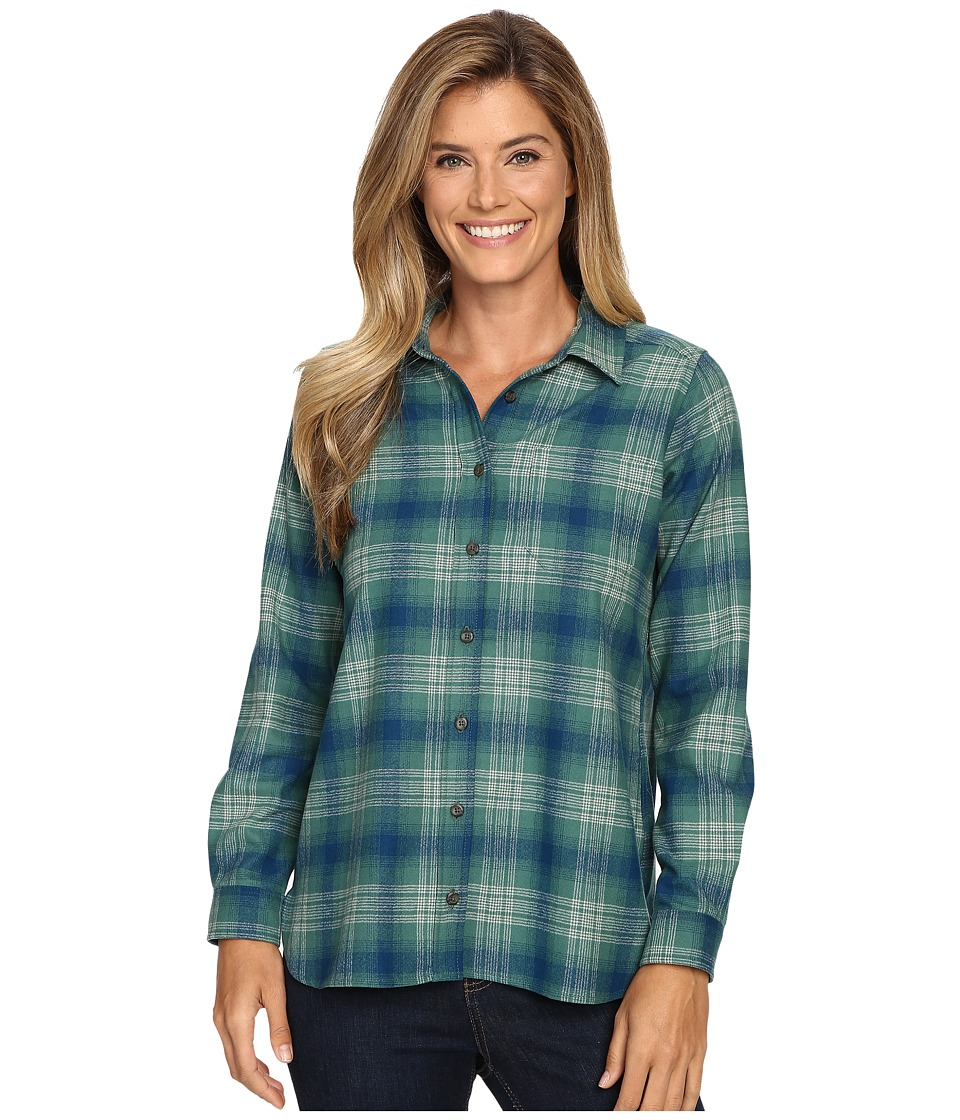 Pendleton - Meredith Shirt (Soft Green Plaid) Women's Clothing