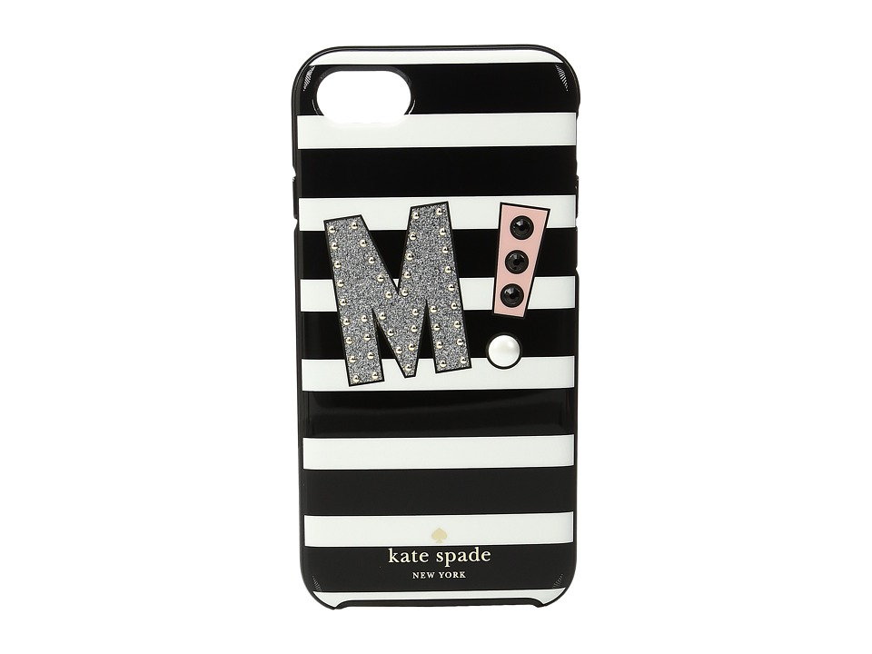 Kate Spade New York - Initial M Phone Case for iPhone 7 (Multi) Cell Phone Case