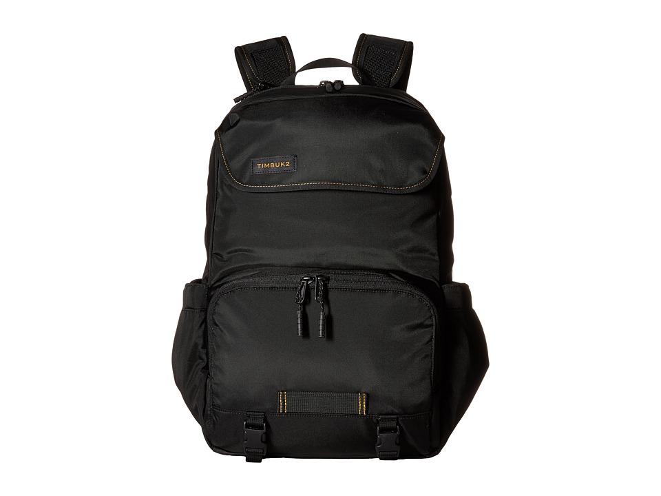 Timbuk2 - Stork Pack (Black/Gold) Backpack Bags